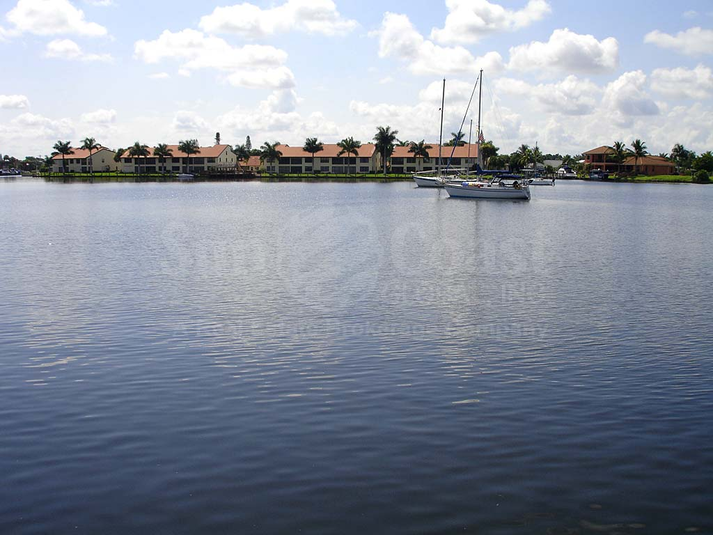 View Down the Canal From Bimini View